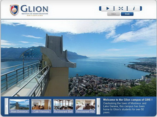 ekthana switzerland Glion Institute of Higher Education