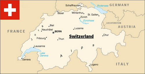 ekthana switzerland map